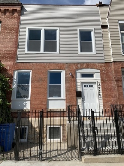 Chicago Single Family Home New: 2956 West Monroe Street