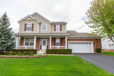 Elgin Single Family Home New: 326 Copper Springs Lane
