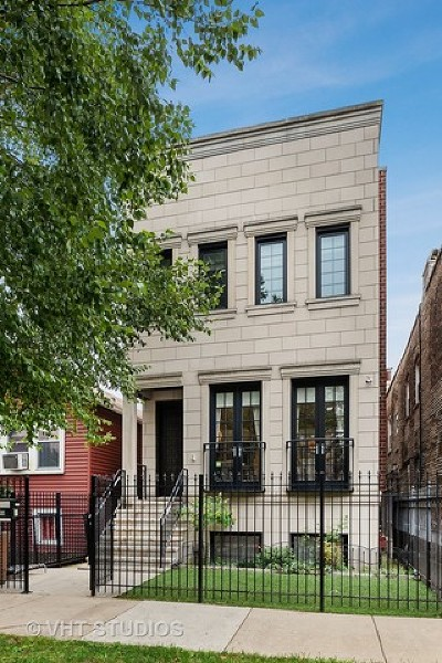 Chicago Single Family Home New: 2137 West Huron Street