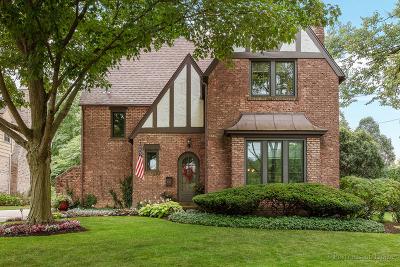 Glen Ellyn Single Family Home For Sale: 611 Lakeview Terrace
