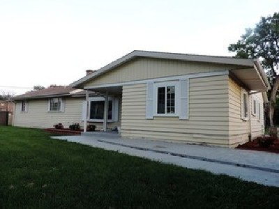 Alsip Single Family Home New: 4905 West Engle Road
