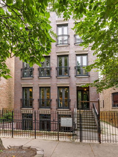 Chicago Condo/Townhouse New: 1120 North Wood Street #2
