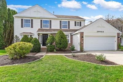 Warrenville Single Family Home For Sale: 29w611 Ridge Drive