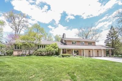 Glen Ellyn Single Family Home For Sale: 22w422 Elmwood Drive