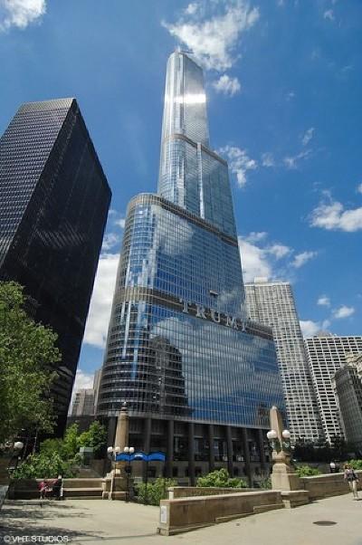 Chicago Condo/Townhouse New: 401 North Wabash Avenue #53E