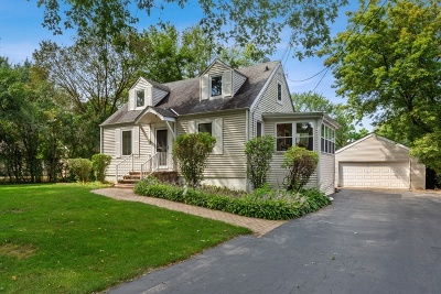 Wheaton Single Family Home For Sale: 1720 North Summit Street