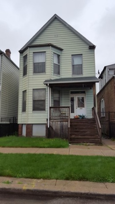 Cook County Multi Family Home New: 6012 South Bishop Street