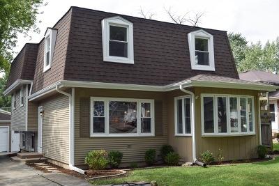 Wheaton Single Family Home For Sale: N076 Cottonwood Drive