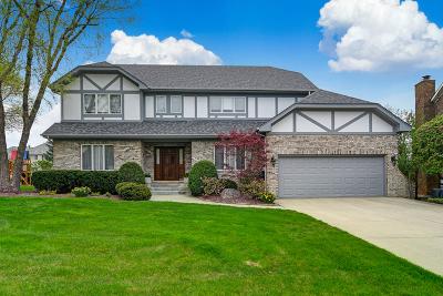 Burr Ridge Single Family Home New: 6109 Woodcreek Drive
