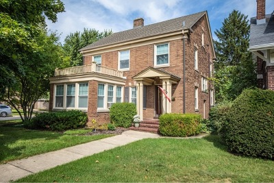 Joliet Single Family Home Price Change: 821 Farragut Place