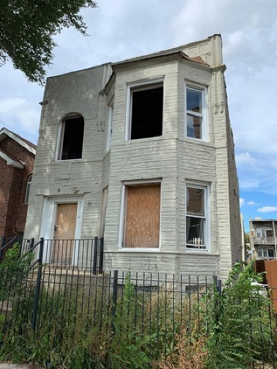Cook County Multi Family Home New: 3856 West Grenshaw Street
