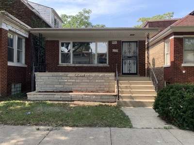 Cook County Single Family Home New: 7722 South Rhodes Avenue
