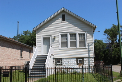Cook County Single Family Home New: 1000 West 47th Place