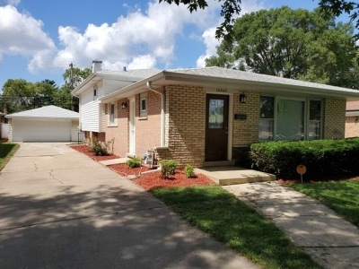 Cook County Single Family Home New: 14342 Dante Avenue