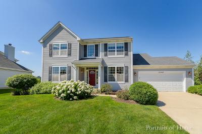 Plainfield Single Family Home New: 25445 Pavilion Place