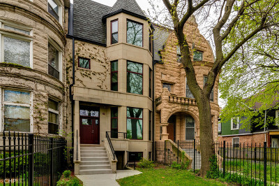 Chicago Single Family Home New: 4541 South Greenwood Avenue
