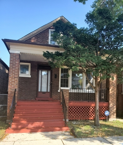 Chicago IL Single Family Home New: $85,000