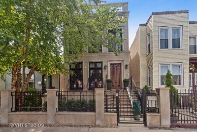 Chicago Single Family Home New: 1951 West Huron Street
