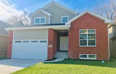 Chicago Ridge Single Family Home New: 9828 Oak Park Avenue
