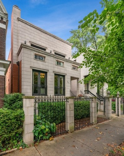 Chicago Single Family Home New: 654 North Oakley Boulevard