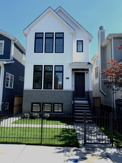 Chicago Single Family Home New: 4153 North Claremont Avenue