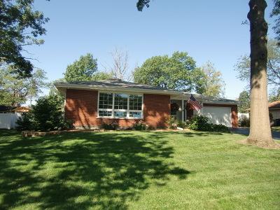 Orland Park Single Family Home New: 14516 Oakley Avenue