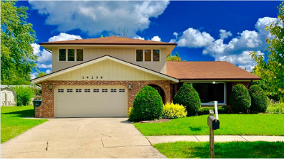 Oak Forest, Orland Hills, Orland Park, Palos Heights, Palos Hills, Palos Park, Tinley Park Rental New: 14209 Meadowview Court