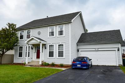 Plainfield Single Family Home New: 2103 Vermette Circle