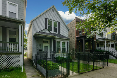Chicago Single Family Home New: 2725 North Mozart Street