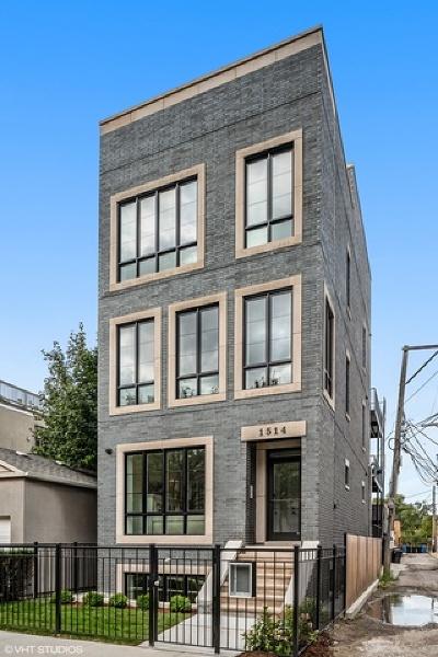 Condo/Townhouse New: 1514 West Altgeld Street #2