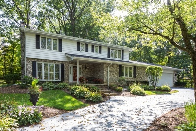 Homer Glen Single Family Home New: 16660 Manitou Road