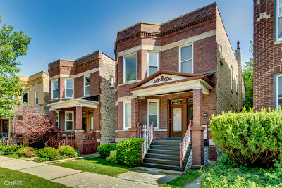 Multi Family Home New: 2253 West Addison Street