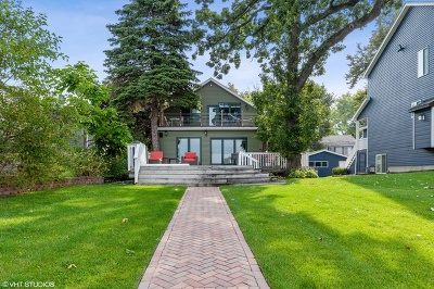 Fox Lake Single Family Home New: 22 South Pistakee Lake Road