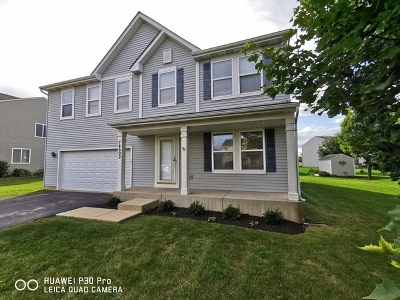 Plainfield Single Family Home New: 14602 Independence Drive