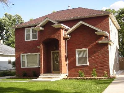 Cook County Single Family Home New: 1469 Burr Oak Road