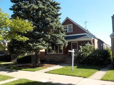 Cook County Single Family Home New: 5543 South Merrimac Avenue