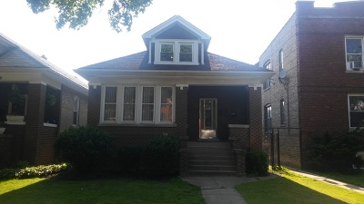 Cook County Single Family Home New: 3452 North Harding Avenue