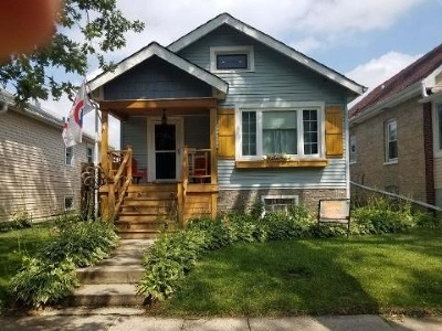 Cook County Single Family Home New: 2151 North Natchez Avenue