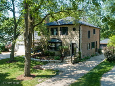 Western Springs Single Family Home New: 4828 Grand Avenue