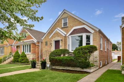 Chicago Single Family Home New: 5439 North Melvina Avenue