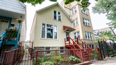 Chicago Single Family Home New: 3559 West Shakespeare Avenue