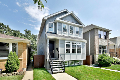 Chicago Single Family Home New: 5043 North Normandy Avenue