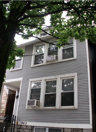 Multi Family Home New: 1942 North Oakley Avenue