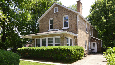 Cook County Single Family Home New: 3508 Central Street