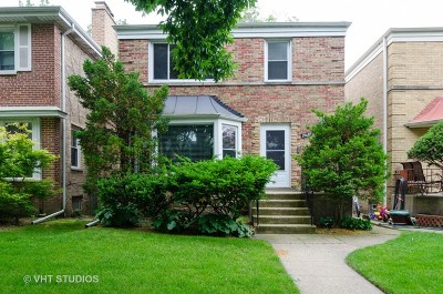 Chicago Single Family Home New: 2627 West Jerome Street