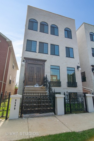 Chicago Single Family Home New: 3153 West Wallen Avenue
