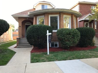 Chicago, Aurora, Elgin, Hammond, Joliet, Kenosha, Michigan City, Naperville Single Family Home New: 6322 North Leroy Avenue