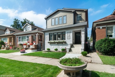 Chicago Single Family Home New: 3036 North Long Avenue