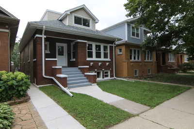 Cook County Single Family Home New: 5418 West Henderson Street