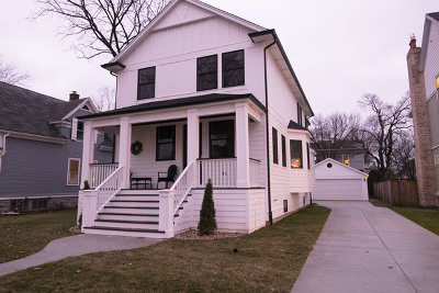 Cook County Single Family Home New: 515 North Catherine Avenue